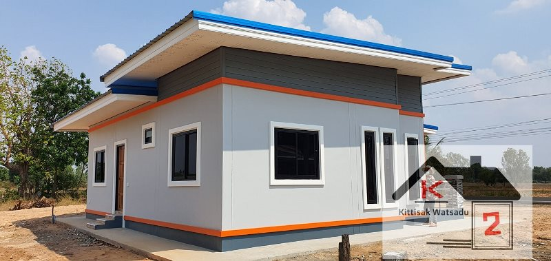 Picture of Elevated One Storey House Design
