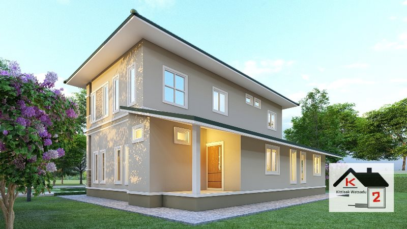Picture of Beautiful Two Storey House with Fabulous Exterior