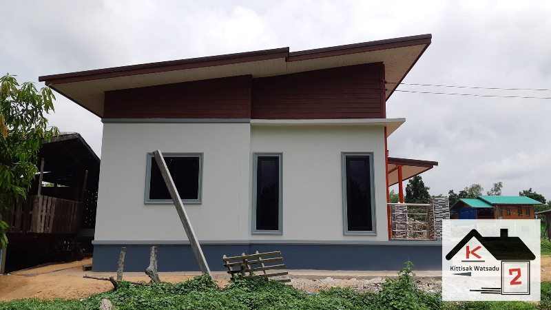 Picture of Dynamic Facade of a Modern Bungalow House