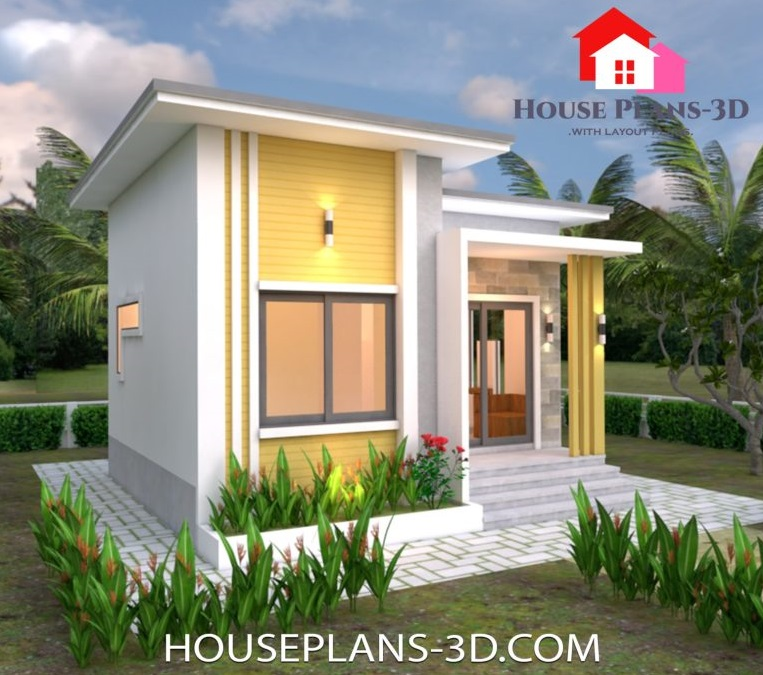 Picture of Low Budget Eco Friendly House with Simple Concepts